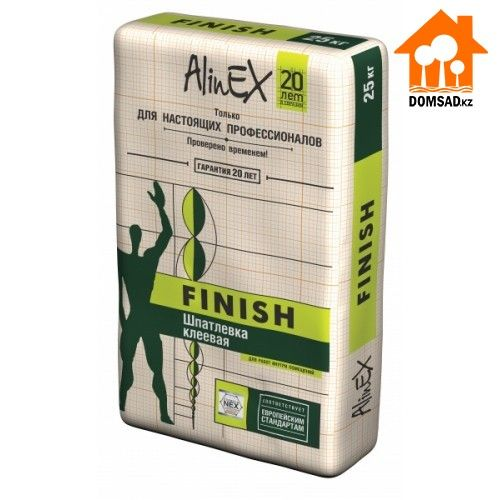 Шпатлевка AlinEX FINISH, 25кг
