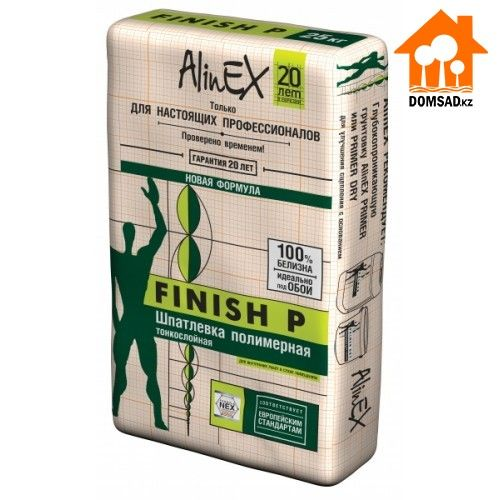 Шпатлевка AlinEX FINISH P, 25кг