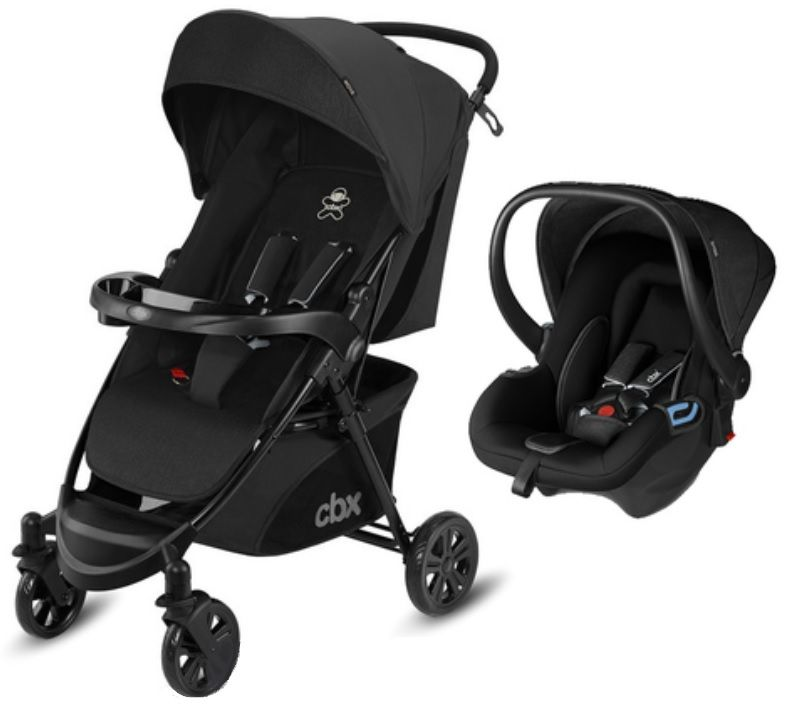 Коляска 2в1 CBX by Cybex Woya Travel System Smoky Anthracite в Алматы