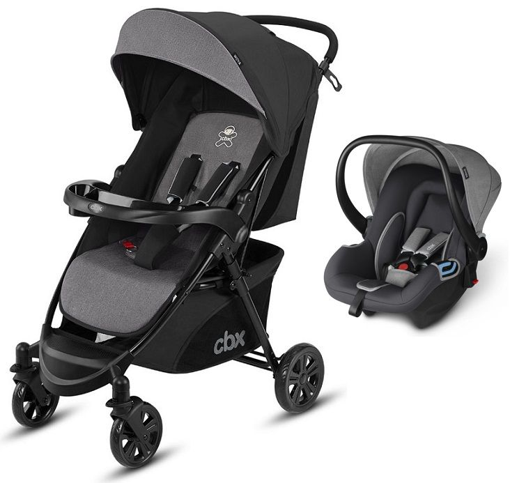 Коляска 2в1 CBX by Cybex Woya Travel System Comfy Grey в Алматы