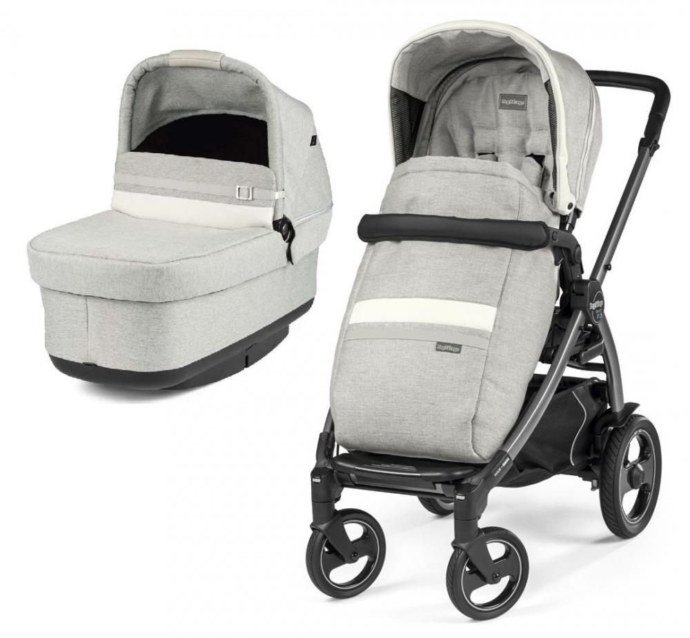 Коляска 2в1 Peg-Perego Book 51S Titania Pop Up Modular Lux Pure в Алматы